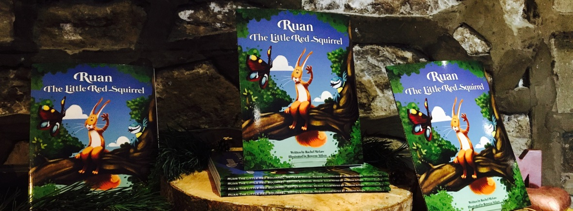 Ruan the Little Red Squirrel books