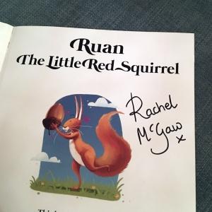 Baby Ruan's signed book